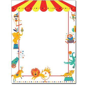 Circus Letterhead