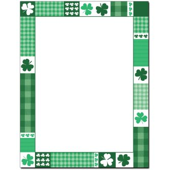 Clover Patch Letterhead - 100 pack