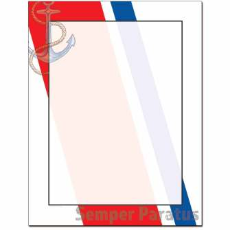 Coast Guard Letterhead - 25 pack