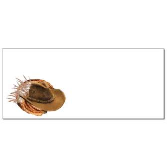 Cowboy Envelopes - 25 Pack