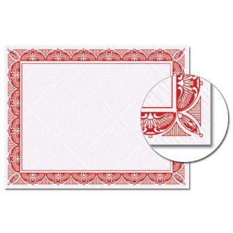 Crown Red Certificate - 100 Pack