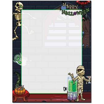 Deadman's Party Letterhead - 100 pack