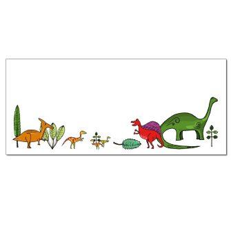 Dino Stomp Envelopes