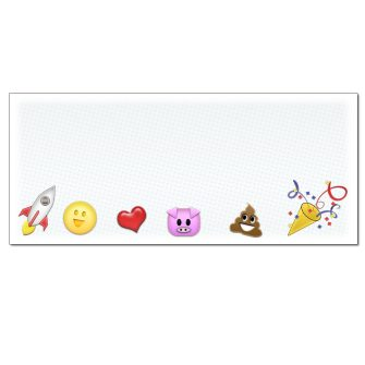 Emoji Envelopes - 25 Pack