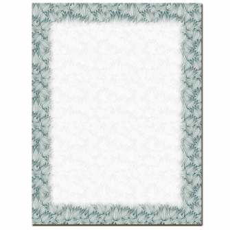 Etched Tulips Letterhead - 25 pack