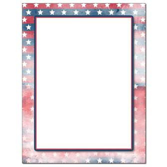 Faded Glory Letterhead - 25 pack