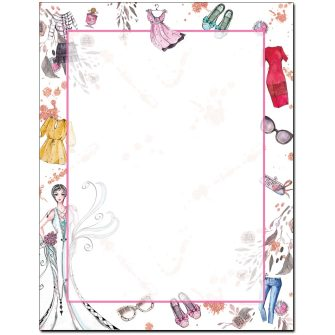 Fashion Show Letterhead - 100 pack