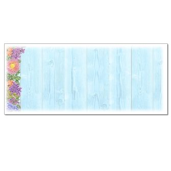 Floral Fence Envelopes - 25 Pack