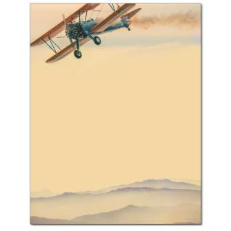 Fly By Letterhead - 25 pack