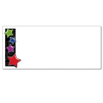 Gel Stars Envelopes