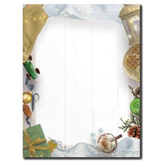 winter stationery paper the image shop