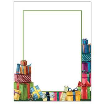 Gifts Letterhead - 25 pack