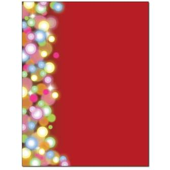 Glittering Lights Letterhead - 25 pack