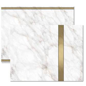 Gold Marble Trifold Brochure