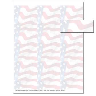 Grand Old Flag Address Labels