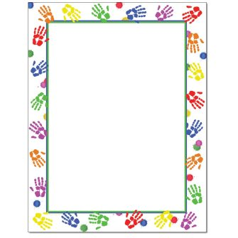 Handprints Letterhead - 100 pack