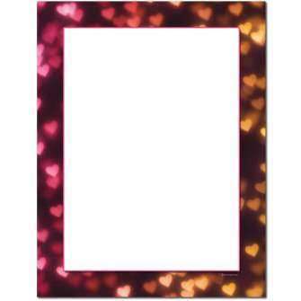 Heart Lights Letterhead - 25 pack