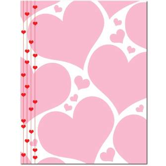 Heart Strings Letterhead - 100 pack