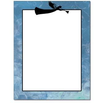 Heralding Angel Letterhead - 25 pack