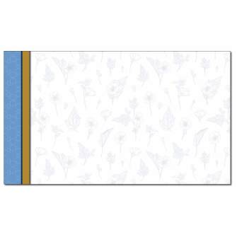 Herbal Blue Business Card