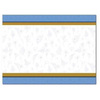 Herbal Blue Post Card, 200pk