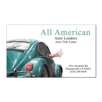 Hit the Road Custom Business Cards