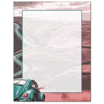 Hit The Road Letterhead - 100 pack