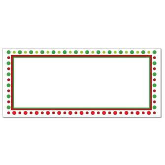 Holiday Dots Envelopes - 25 Pack
