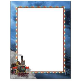Holiday Express Letterhead - 100 pack