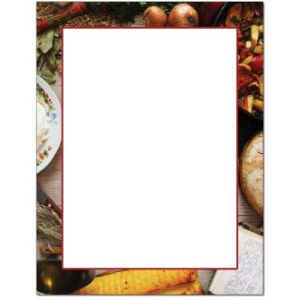 Homemade Letterhead - 25 pack