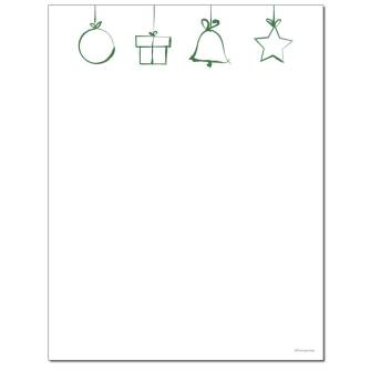 Icons Letterhead - 25 pack