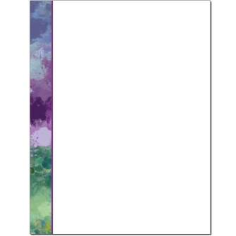 Impressionistic Letterhead - 25 pack