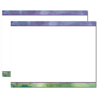 Impressionistic Trifold Brochure