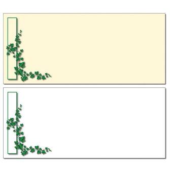 Ivy Border Envelopes