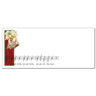 Jingle Bells Envelopes - 50 Pack