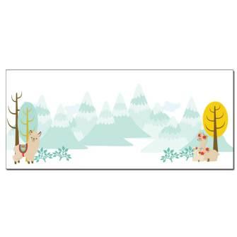 Llama Family Envelopes