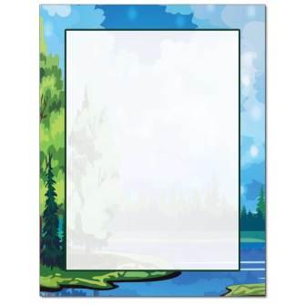 Lakeside Letterhead - 25 pack