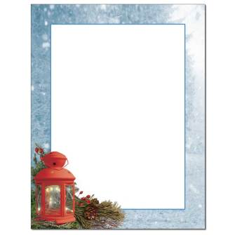 Lantern Light Letterhead - 25 pack