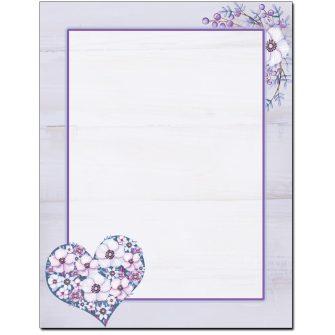 Lavender Love Letterhead