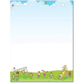Lets Play Letterhead - 80 pack