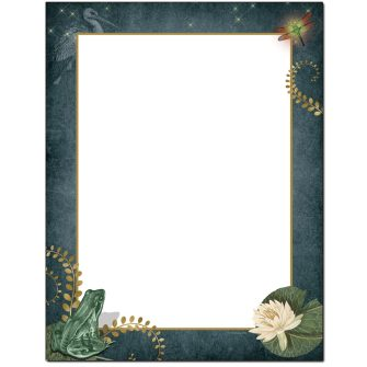 Lily Pond Letterhead - 100 pack