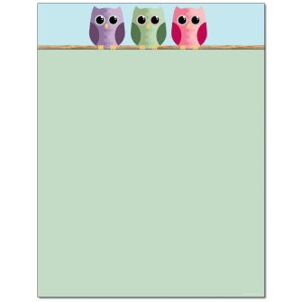 Look Who Letterhead - 100 pack