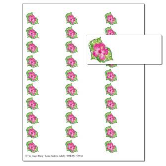 Luau Address Labels