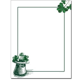 Luck of The Irish Letterhead