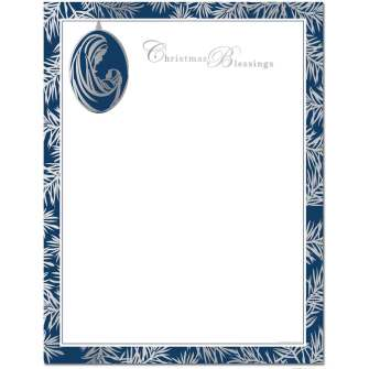 Madonna & Child Ornament Letterhead