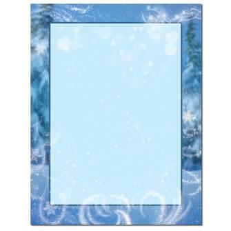 Magical Snow Letterhead - 100 pack