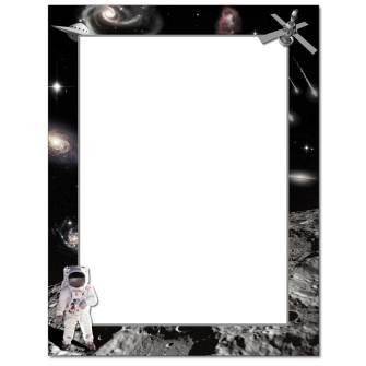 Man On The Moon Letterhead - 25 pack