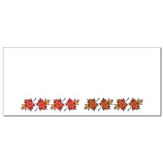 Maple Leaves Envelopes