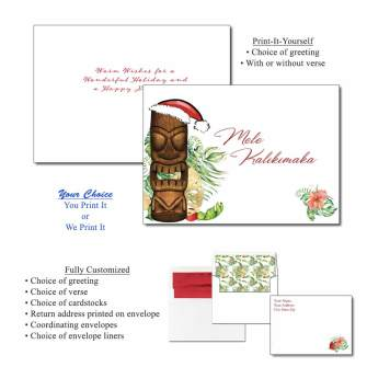 Mele Kalilimaka Greeting Cards