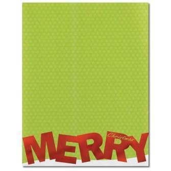 Merry Christmas Foil Letterhead
